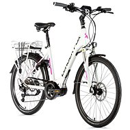 Leader Fox Vivalo, Matte White/Purple - Folding Electric Bikes