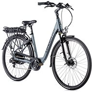 "Leader Fox Induktora 28"", Matte Grey/Black - City E-Bike"