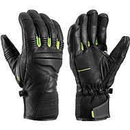 Leki rukavice Glove Progressive 9 S mf touch black-lime vel. 9 - Rukavice
