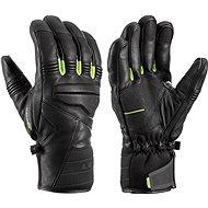 Leki rukavice Glove Progressive 9 S mf touch black-lime vel. 10 - Rukavice