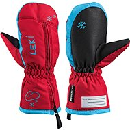 Leki rukavice Glove Little Snow Mitt red-cyan vel. 2 - Rukavice