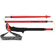 Leki Micro Stick Carbon Red-black-white - Poles
