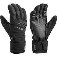 Lyžařské rukavice Leki Space GTX, black