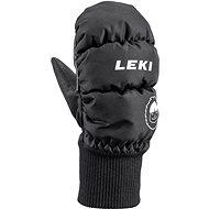 Lyžařské rukavice Leki Little Eskimo Mitt Short, black