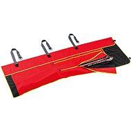 Vak na lyže Leki Wrap Bag Alpine, fluorescent red-black-neonyellow, 210 cm