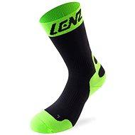 Lenz Compression 6.0 mid black / lime 20 42-44 - Socks