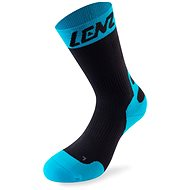 Lenz Compression 6.0 mid black / blue 10 39-41 - Socks