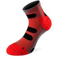 Lenz compression 4.0 red 40 Low - Kompresní ponožky