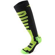 Lenz Free Tour 1.0 černá/zelená 10 vel.35-38 - Lyžařské ponožky