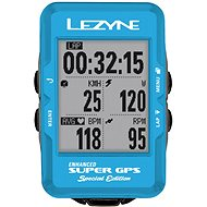 Lezyne Super GPS Special Edition - Blue