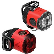 Lezyne Femto USB Drive Pair Red - Světlo na kolo