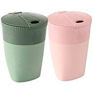 Light My Fire Pack-up-Cup BIO 2-pack dustypink/sandygreen - Hrnek