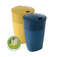Light My Fire Pack-Up-Cup, BIO 2-Pack, Musty Yellow/Hazy Blue