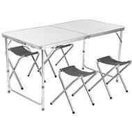 Loap HAWAII CAMP SET bílá/šedá - Zahradní nábytek