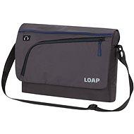 Loap GOTSA black/blue - Městský batoh