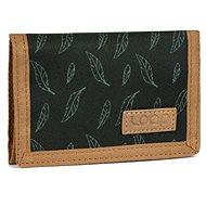 Loap Walleta černá/zelená