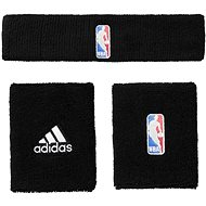 Adidas NBA Wristband prus Headband Black Men - Sada