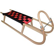 Sulov Tatra 105 cm black-red - Sledge