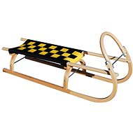 Sulov 67 110 cm black and yellow - Sled