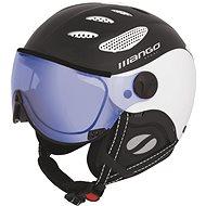 Mango Cusna VIP černá mat/bílá - Lyžařská helma