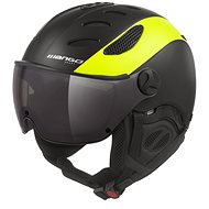 Mango Cusna VIP Černá/žlutá fluo - Lyžařská helma