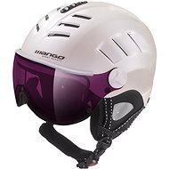Mango Volcano VIP bílá perleť mat 53-55 cm - Lyžařská helma