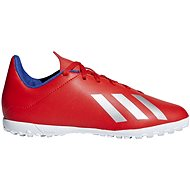 Adidas X 18.4 TF červená/bílá - Kopačky