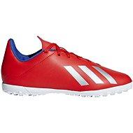 Adidas X 18.4 TF J červená/bílá - Kopačky