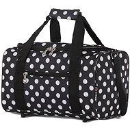 CITIES 611 - black / white - Travel Bag