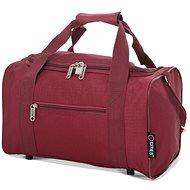 CITIES 611 - vínová - Cestovní taška