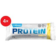 MAX SPORT PROTEIN gluten free vanilka 4x60 g - Proteinová tyčinka