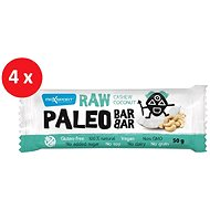 MAX SPORT RAW PALEO BAR kešu kokos 4x50g - Raw tyčinka