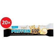 MAX SPORT ROYAL PROTEIN KINGSIZE Vanilka 20 ks - Proteinová tyčinka