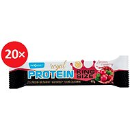 MAX SPORT ROYAL PROTEIN KINGSIZE Brusinka 20 ks - Proteinová tyčinka