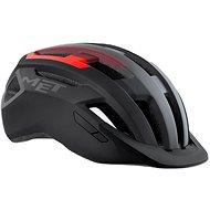 MET ALLROAD černá/červená matná - Helma na kolo