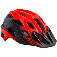 MET LUPO červená/černá matná - Helma na kolo