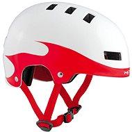 MET YOYO dětská plameny/červená/bílá lesklá - Helma na kolo