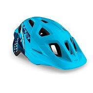 MET ELDAR žralok/modrá matná - Helma na kolo