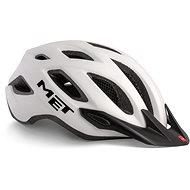 MET CROSSOVER bílá matná L/XL - Helma na kolo