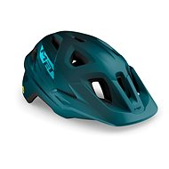 MET ECHO MIPS petrol modrá matná - Helma na kolo