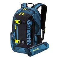 Meatfly Basejumper 5 Backpack Shade Mono Steel + penál zdarma