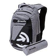 Meatfly Exile 4 Backpack Grey/Black + penál zdarma
