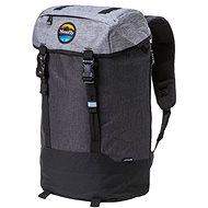 Městský batoh Meatfly Pioneer 4 Backpack Ht. Grey/Ht. Charcoal/Black