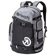 Meatfly Wanderer 5 Backpack Heather Grey/ Black