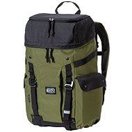 Meatfly Scintilla 2 Backpack Black/Vivide Olive - Městský batoh