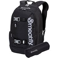 Meatfly Basejumper 6 Backpack, Black - Batoh