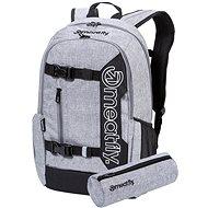 Meatfly Basejumper 6 Backpack, Heather Grey - Batoh