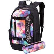 Meatfly Basejumper 6 Backpack, Universe Color, Black - Batoh