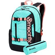 Meatfly Basejumper 6 Backpack, Heather Mint - Backpack