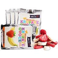 Mixit Křupavé ovoce do kapsy- Banán+jahoda (5ks) - Lyofilizované ovoce